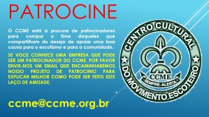 PATROCINE O CCME !