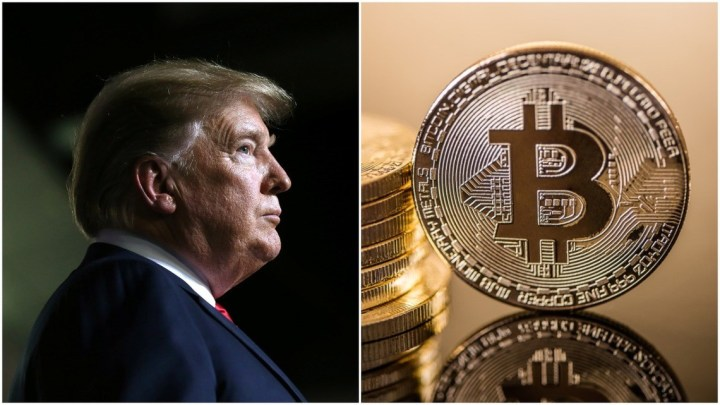 bitcoin price falls as donald trump delays china tariffs