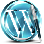 Blue WordPress-medium