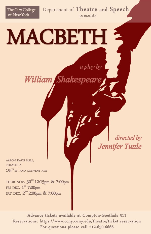 Macbeth by William Shakespeare Directed by Jennifer
