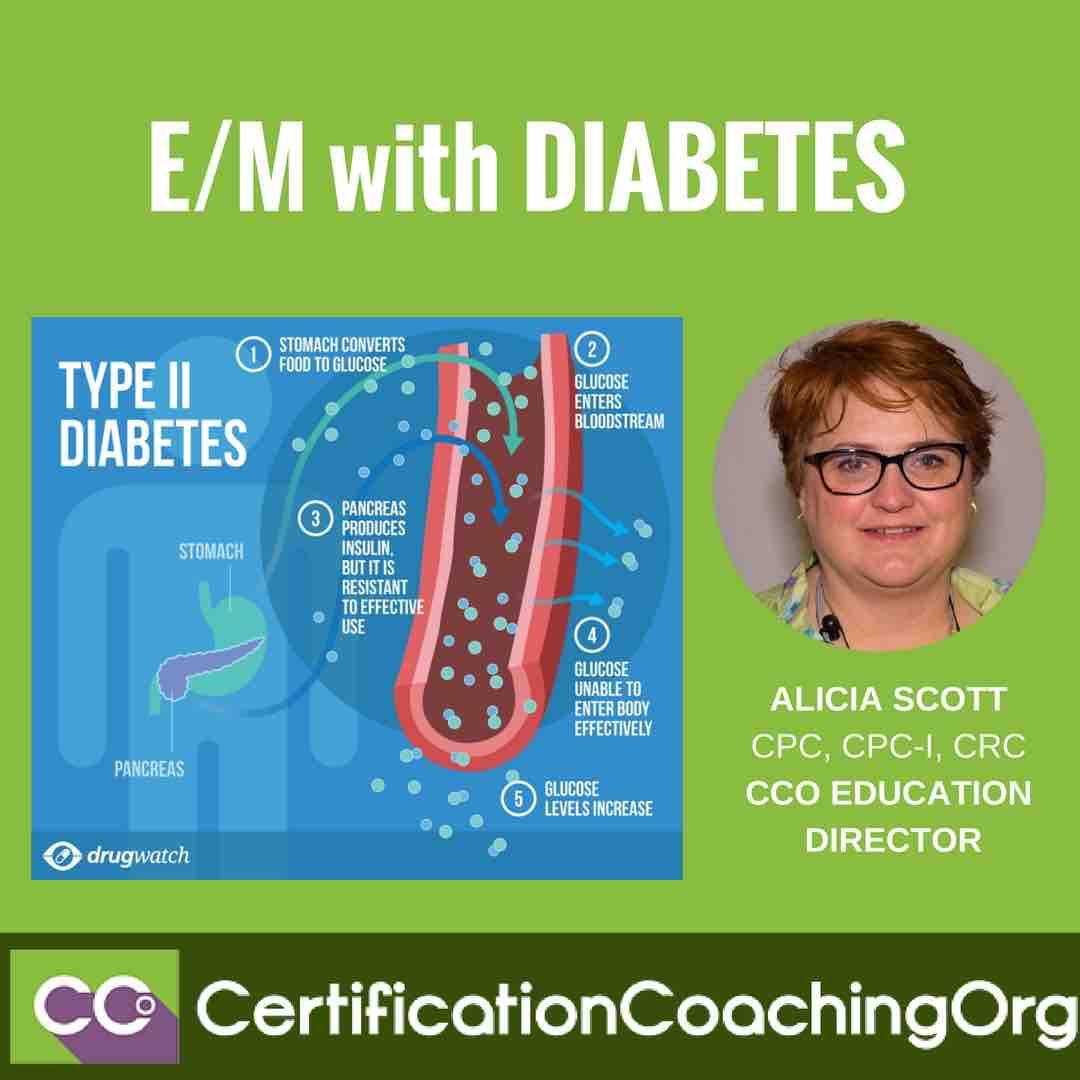 E M With Diabetes E Amp M Coding Tips