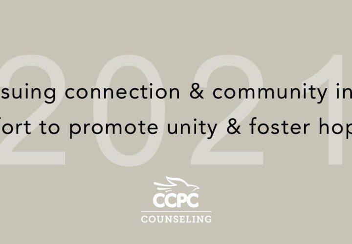 Pursing connection and community is an effort to promote unity and foster hope - Christian Center of Park City