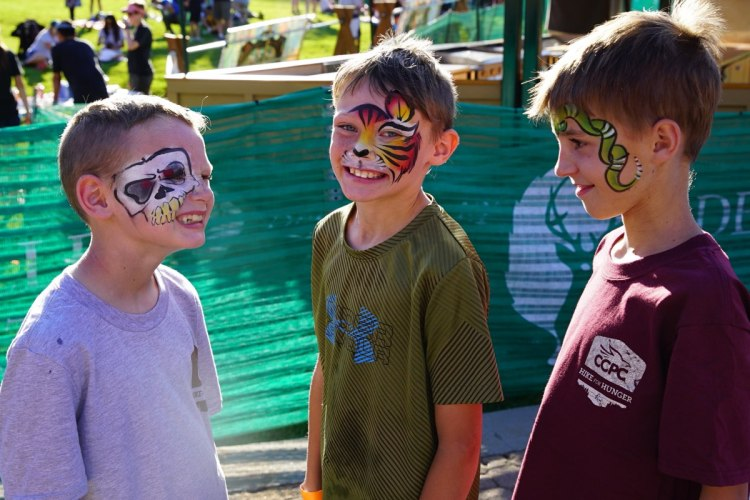 hike-4-hunger-face-paint