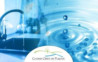 Coupure d'eau sur Charny Orée de Puisaye