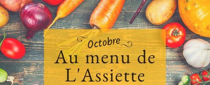 L'assiette locale - Menu scolaire juin au 4 octobre 2021 à Charny Orée de Puisaye