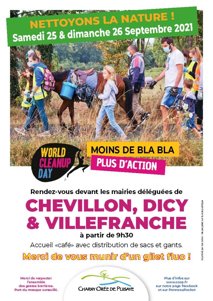 Affiche WCUD 2021 Charny Orée de Puisaye