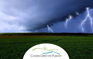 Orages Charny Orée de Puisaye