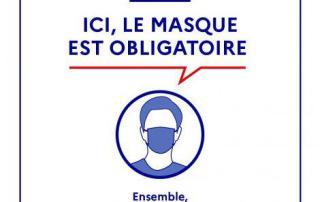port masque obligatoire Yonne CCOP