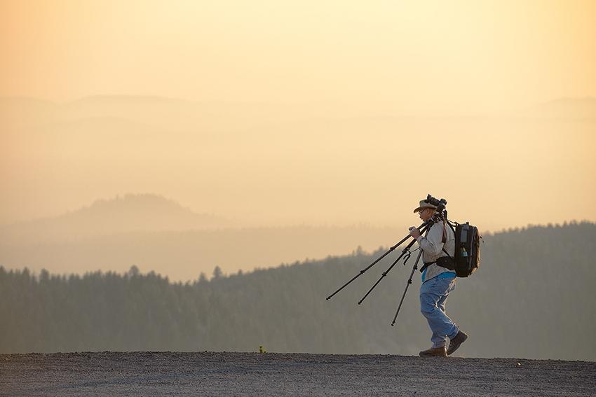 Landscape photography tutoring
