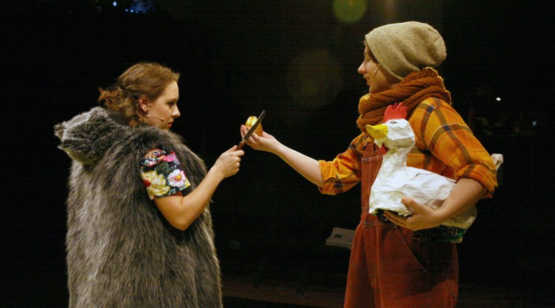 Into the Woods, Girls with Chicken