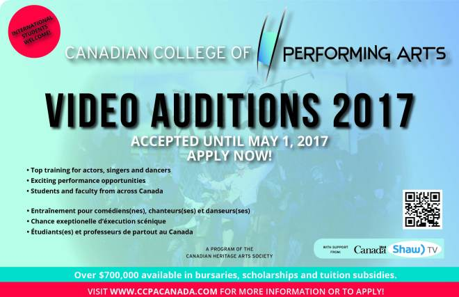 Video audition promo