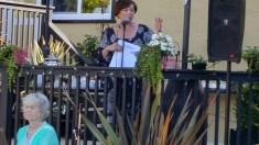 Our lovely Host Maureen