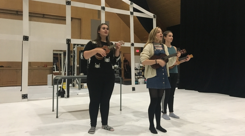 Wintertime rehearsal