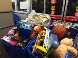 toys collected for the toy drive