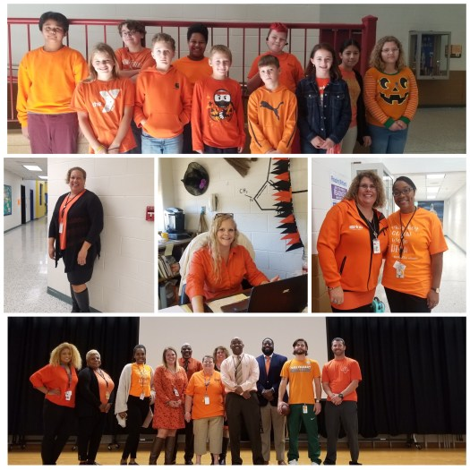 CMS students and staff support Unity Day 2019