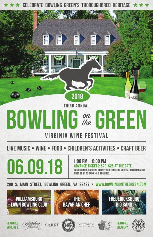 Poster for Bowling on the Green festival