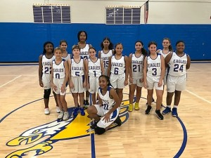 CMS Girls Basketball Team