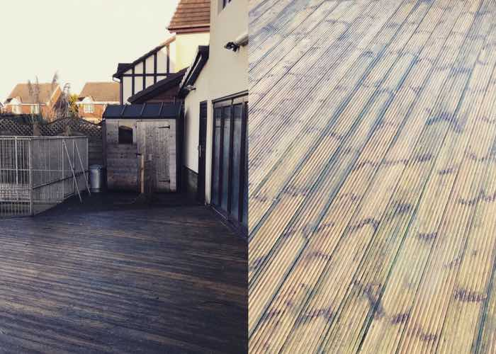 Decking Cleaning in Birkdale