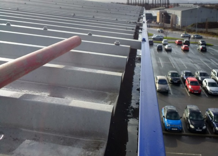 Commercial Gutter Cleaning in Liverpool