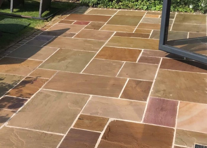 Patio cleaning and restoration from CCPW in Anfield