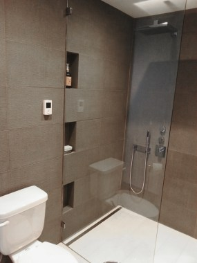 Shower after renovation