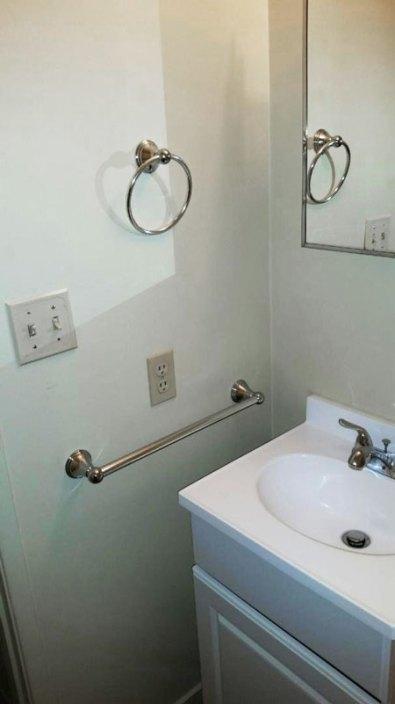 Bathroom Sink after Renovation