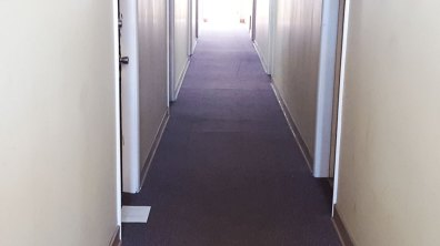 Hallway Before Renovation