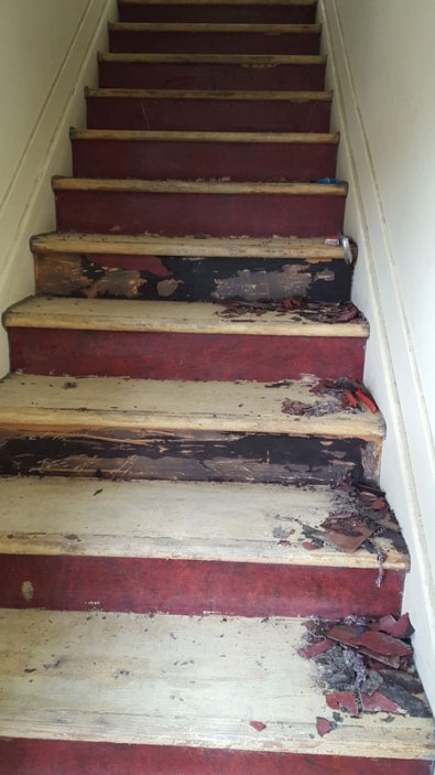 Stairs Before Renovation