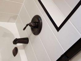 New Bathroom Fixtures installed