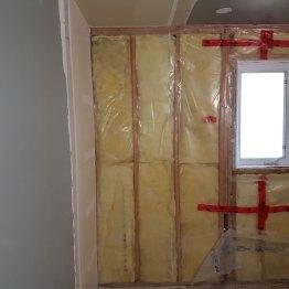 Gutted bathroom renovation