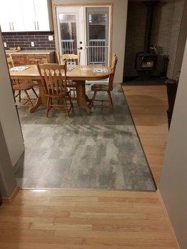 Completed Kitchen Floor