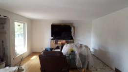 Living Room before renovation