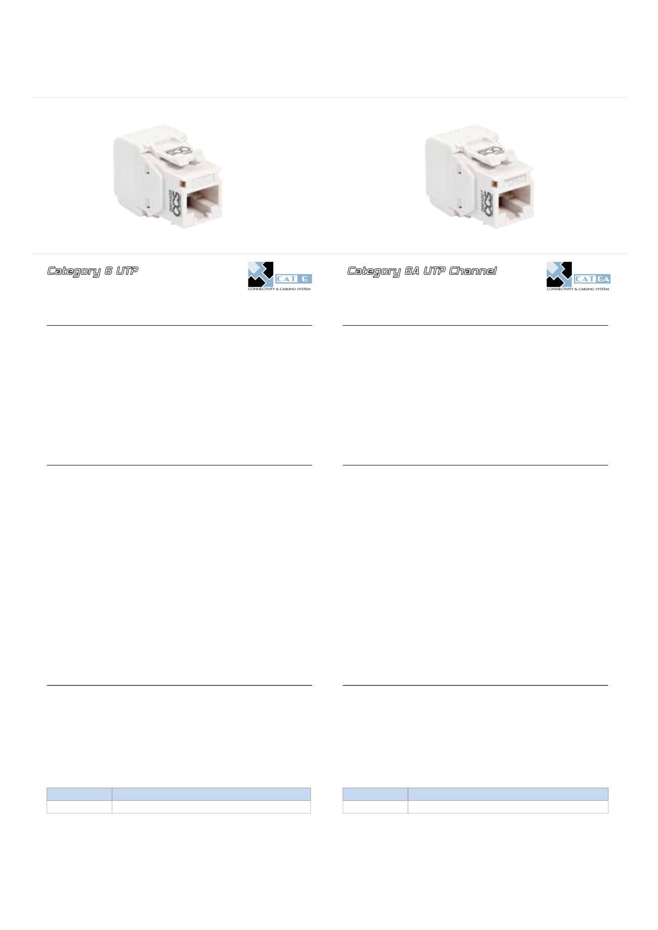 Ccs Connectivity Amp Cabling System Catalogue