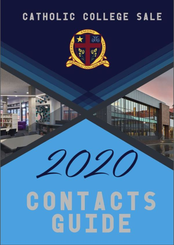 Contacts Guide Cover - 2020 Contacts Guide
