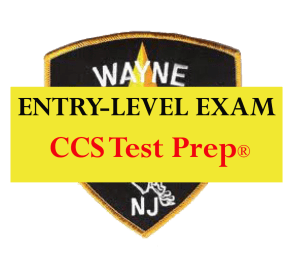 CCS Test Prep® Wayne Twp PD