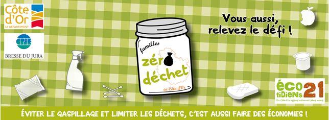 Défi « Familles zéro déchet en Côte-d'Or »
