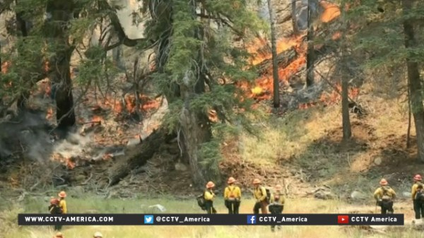 Several parched US states hit by early wildfire season ...