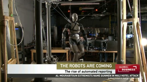 The robot reporters are coming | CCTV America
