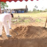 2) At a Macarena grave site, Colombian CSI working on exhumation of unidentified bodies.
