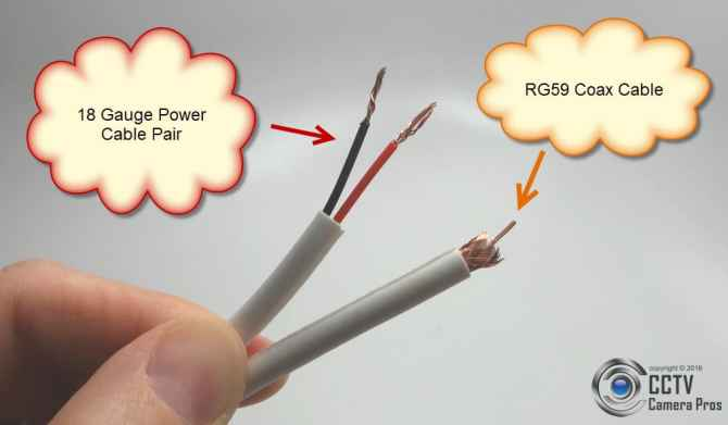 rg59 siamese coax cable wiring guide for analog cctv cameras