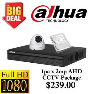 CCTVSG.NET Dahua 1080P AHD CCTV Package 1
