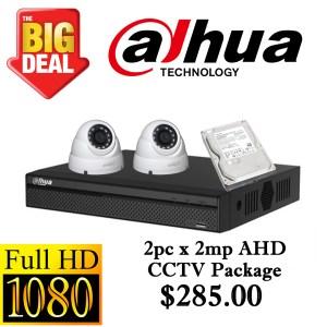 CCTVSG.NET Dahua 1080P AHD CCTV Package 2