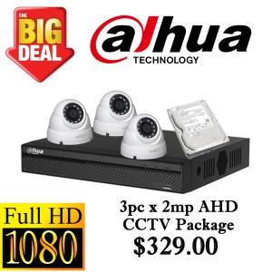 CCTVSG.NET Dahua 1080P AHD CCTV Package 3
