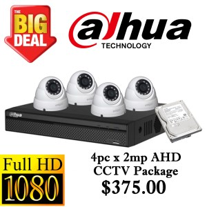 CCTVSG.NET Dahua 1080P AHD CCTV Package 4