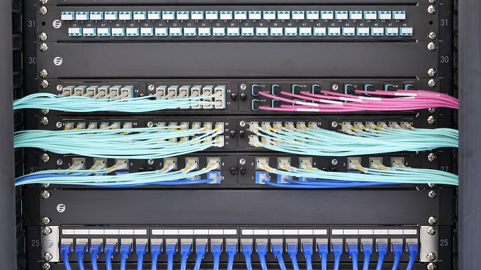 Server Rack Cable Management 2