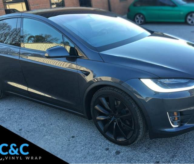 Tesla Chrome Delete Model X