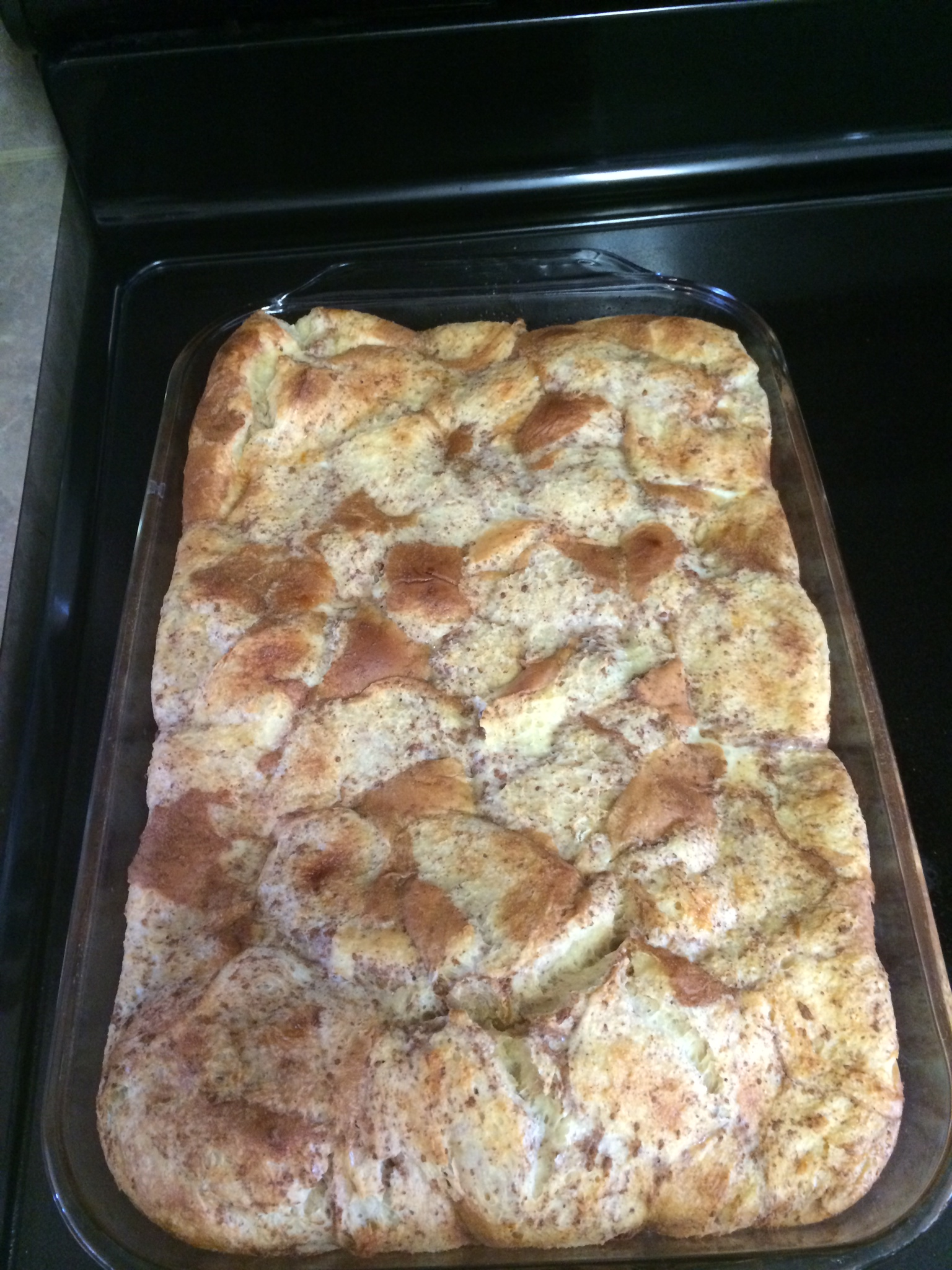 French Toast Bread Pudding Pan