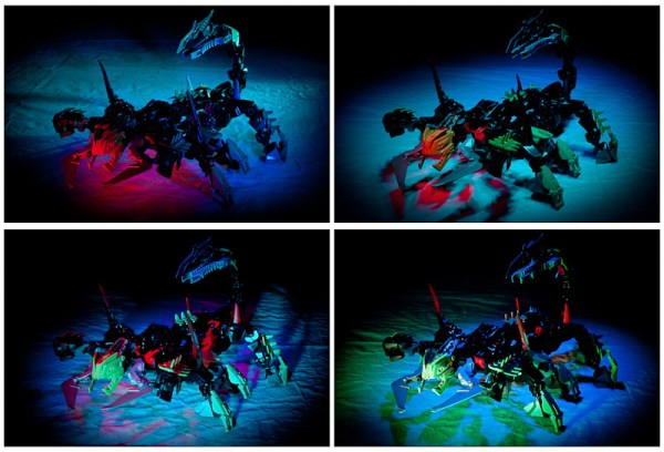 Scorpion - LEGo e light-painting