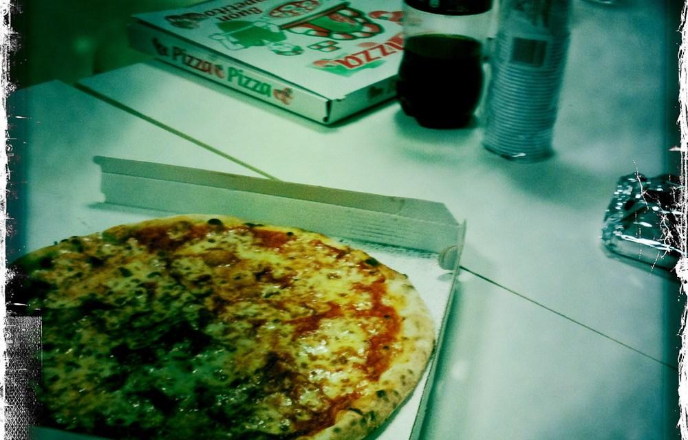Che pizza. Basta: l'ennesima.