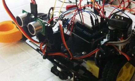 Rover 2WD prototype: a arduino test
